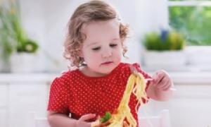 С какого возраста можно давать ребенку макароны?