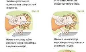 Как правильно промывать нос Аквалором ребенку?
