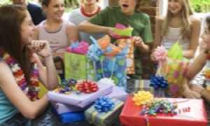 Подарок ребенку 13-16 лет