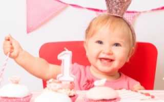 Рост и вес ребенка в 1 год 1 месяц