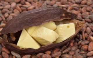 Масло какао от кашля для детей