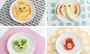 Как сделать красивую фруктовую нарезку для детей?