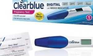 Электронный тест на беременность Clearblue
