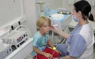 Симптомы и лечение отита у детей