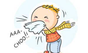 Почему ребенок чихает?